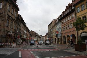 写真で届ける世界遺産(ドイツその9、戦前の古い町並みが残った川沿いの美しい古都バンベルク)