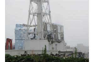 2月20日、東電福島第一原発の敷地内取材