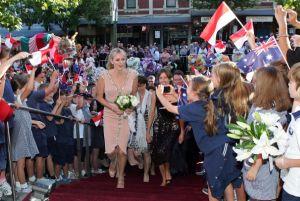 モナコのシャルレーヌ王妃が豪に「里帰り」