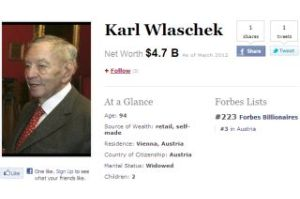 94歳大富豪が再婚