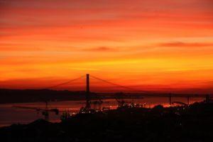 写真で届ける世界遺産(ポルトガルの最終回、リスボンの夕日と食事)