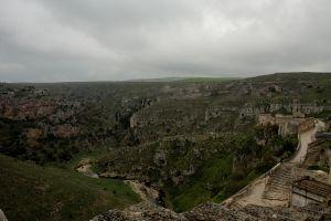 写真で届ける世界遺産(南イタリア2、奇妙で寂しげなマテーラの洞窟住居)