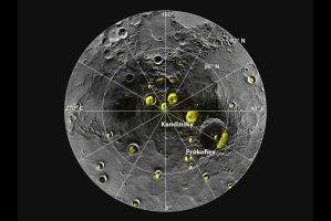 水星に氷が存在した(NASA)