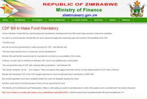 ジンバブエ政府、公務員給与支払いで残高2万円に