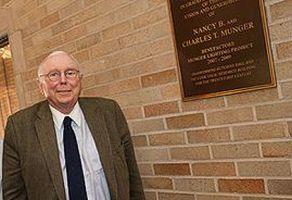 C・マンガー氏が110億円をミシガン大に寄付