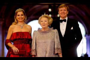 オランダ新国王の即位式典
