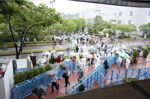 関西電力総会、神戸開催で出席者激減