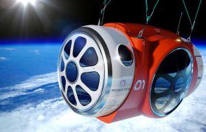 激安700万円の宇宙旅行は気球