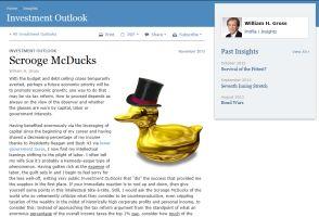富裕層増税で米国は復活する(PIMCOグロース氏)