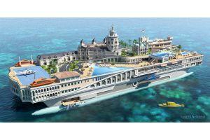 「洋上モナコ構想」再始動、建築費用4000億円に