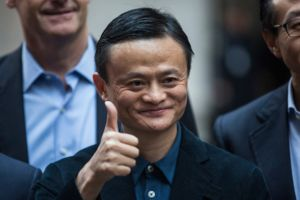 アリババ馬氏がアジア1の大富豪に、資産3.4兆円