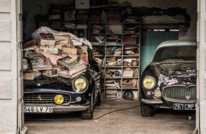 競売農場から18億円のフェラーリなどヴィンテージカー60台発見