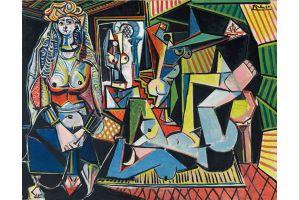 ピカソ「アルジェの女たち」215億円で落札、ピカソ作品で最高額